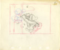 Animation Art:Production Drawing, Snow White and the Seven Dwarfs Animation Concept DrawingOriginal Art (Disney, 1937)....