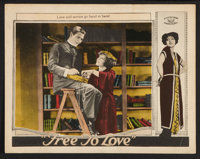 """Free to Love (Al Lichtman Corporation, 1925). Lobby Cards (2) (11"""" X 14""""). Melodrama. ... (Total: 2 Items)"""