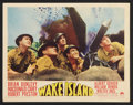 "Movie Posters:War, Wake Island (Paramount, 1942). Lobby Card Set of 8 (11"" X 14"").War.. ... (Total: 8 Items)"