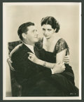 "Movie Posters:Crime, George Bancroft and Kay Francis in ""Scandal Sheet"" (Paramount,1931). Stills (8) (8"" X 10""). Crime.. ... (Total: 8 Items)"