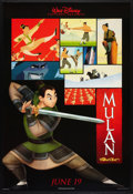 "Movie Posters:Animated, Mulan (Buena Vista, 1998). One Sheets (2) (27"" X 40"") DS Advances Styles A and B. Animated.. ... (Total: 2 Items)"