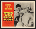 """Movie Posters:War, When Hell Broke Loose (Paramount, 1958). Lobby Cards (7) (11"""" X14""""). War.. ... (Total: 7 Items)"""