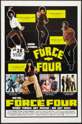 "Movie Posters:Blaxploitation, Force Four (Howard Mahler Films, 1975). One Sheet (27"" X 41"").Blaxploitation.. ..."