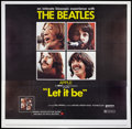 "Movie Posters:Rock and Roll, Let It Be (United Artists, 1970). Six Sheet (81"" X 81""). Rock andRoll.. ..."