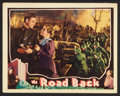 "Movie Posters:War, The Road Back (Universal, 1939). Lobby Card (11"" X 14""). War.. ..."