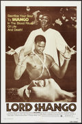 "Movie Posters:Blaxploitation, Lord Shango (Bryanston, 1975). One Sheet (27"" X 41"").Blaxploitation.. ..."