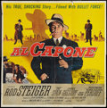 """Movie Posters:Crime, Al Capone (Allied Artists, 1959). Six Sheet (81"""" X 81""""). Crime....."""