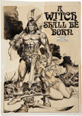Original Comic Art:Splash Pages, John Buscema and Tony DeZuniga Savage Sword of Conan #5Splash Page 5 Original Art (Marvel, 1975)....