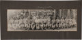 "Autographs:Photos, 1948 Mickey Mantle ""Whiz Kids"" Panoramic Team Photograph withSigned Mat...."