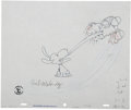 Animation Art:Production Cel, Lucy Must Be Traded, Charlie Brown Animation Production Celwith Matching Clean-Up Drawing Original Art (Lee Mendelson...