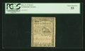 Colonial Notes:Continental Congress Issues, Continental Currency February 17, 1776 $1/2 PCGS Choice About New55....
