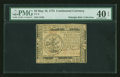 Colonial Notes:Continental Congress Issues, Continental Currency May 10, 1775 $5 PMG Extremely Fine 40 EPQ....
