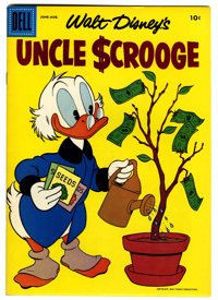Uncle Scrooge #18 (Dell, 1957) Condition: VF