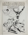 Original Comic Art:Covers, Dick Giordano Comic Crusader Storybook #1 Cover Original Art(Martin Greim, 1977)....
