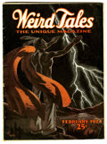 Pulps:Miscellaneous, Weird Tales - February 1924 (Popular Fiction, 1924) Condition: FN....