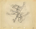 Animation Art:Production Drawing, Mickey's Mechanical Man Animation Production DrawingOriginal Art (Disney, 1933)....
