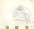 Animation Art:Production Drawing, Pinocchio Stromboli Production Drawing Animation Art (WaltDisney, 1940)....