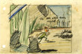 Animation Art:Production Drawing, Mr. Bug Goes to Town Storyboard Drawing Animation Art(Fleischer Studio, 1941)....