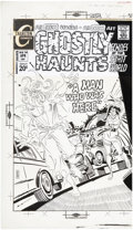 Original Comic Art:Covers, Steve Ditko Ghostly Haunts #24 Winnie the Witch CoverOriginal Art (Charlton, 1972)....