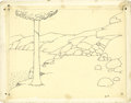 Animation Art:Production Drawing, Winsor McCay Gertie the Dinosaur Animation Drawing OriginalArt (1914)....