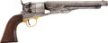 Military & Patriotic:Civil War, M1860 Colt Army .44 Caliber Percussion Revolver, #142339 Matching, Manufactured Late 1863 with Period ID to the Notorious Col....