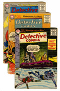 Golden Age (1938-1955):Superhero, Detective Comics #229, 231, and 233 Group (DC, 1956).... (Total: 3 )