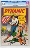 Dynamic Comics #1 Mile High pedigree (Chesler, 1941) CGC NM- 9.2 White pages