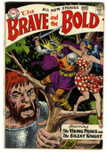 Silver Age (1956-1969):Adventure, The Brave and the Bold #22 Viking Prince and Silent Knight (DC, 1959) Condition: FN....