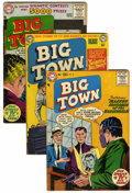 Golden Age (1938-1955):Crime, Big Town Group (DC, 1954-58).... (Total: 6 Comic Books)