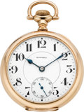 Timepieces:Pocket (post 1900), E. Howard Watch Co. 23 Jewel Series O Railroad Watch With Box,circa 1917. ...