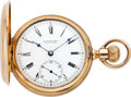 Timepieces:Pocket (pre 1900) , E. Howard & Co. Series V Gold Pocket Watch, circa 1870's. ...