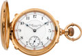 Timepieces:Pocket (pre 1900) , E. Howard & Co. Rare Series IV Multicolor Gold Box Hinge Pocket Watch, circa 1870's. ...