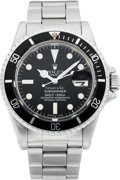 "Timepieces:Wristwatch, Rolex Rare Stainless Steel ""Tiffany & Co."" Submariner Ref. 1680, circa 1978. ..."