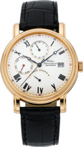 Timepieces:Wristwatch, Waldan International Power Reserve Chronometer Dual TimeWristwatch, circa 2004. ...