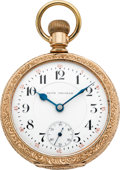 Timepieces:Pocket (pre 1900) , Seth Thomas Rare 25 Jewel Maiden Lane Pocket Watch, circa 1890. ...