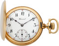 Timepieces:Pocket (post 1900), E. Howard Watch Co. Gold 16 Size Hunters Case, circa 1907. ...