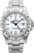 Timepieces:Wristwatch, Rolex Oyster Perpetual Explorer II, Ref. 16570, circa 1995. ...