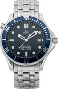"Timepieces:Wristwatch, Omega ""James Bond"" Seamaster Chronometer, circa 2000. ..."