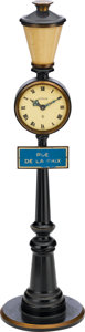 "Timepieces:Clocks, LeCoultre ""Rue De La Paix"" Table Clock, circa 1960. ... (Total: 2Items)"