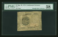 Colonial Notes:Continental Congress Issues, Continental Currency May 10, 1775 $7 PMG Choice About Unc 58....