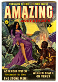 Golden Age (1938-1955):Science Fiction, Amazing Adventures #1 (Ziff-Davis, 1950) Condition: FN....