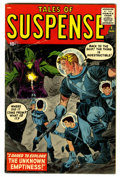 Silver Age (1956-1969):Science Fiction, Tales of Suspense #1 (Marvel, 1959) Condition: Apparent VG/FN....