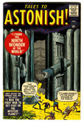 Silver Age (1956-1969):Horror, Tales to Astonish #1 (Marvel, 1959) Condition: Apparent FN+....