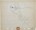 Animation Art:Production Drawing, Ferdinand the Bull Production Drawing Animation Art Group(Walt Disney, 1938).... (Total: 2 Items)