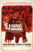 "Movie Posters:Western, A Fistful of Dollars (United Artists, 1967). Poster (40"" X 60"").. ..."