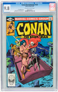 Modern Age (1980-Present):Miscellaneous, Conan the Barbarian #125 (Marvel, 1981) CGC NM/MT 9.8 Off-white to white pages....