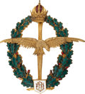 Military & Patriotic:WWI, World War I: Imperial Austrian Army Field Pilot Badge, FranzJoseph, 1914-1916....