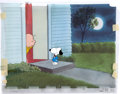 Animation Art:Production Cel, Charlie Brown and Snoopy Show Production Cel and MatchingProduction Drawings Animation Art (Melendez-Schulz Studios, ...(Total: 4 Items)