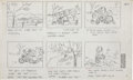 Animation Art:Production Drawing, You're a Good Sport, Charlie Brown Storyboard DrawingOriginal Art (Bill Melendez Productions, 1975)....