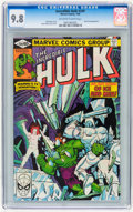 Modern Age (1980-Present):Science Fiction, The Incredible Hulk #249 (Marvel, 1980) CGC NM/MT 9.8 Off-white towhite pages....